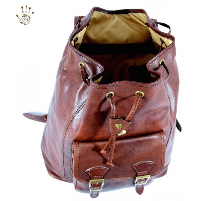 """Leather Backpack """"Amelia"""""""