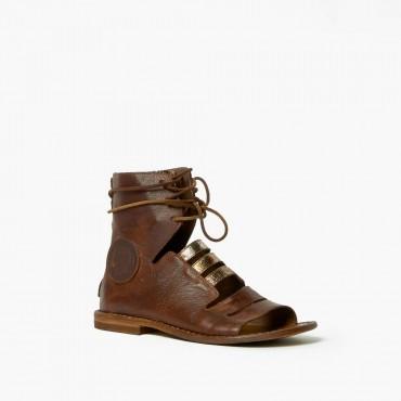 """Leather woman sandal """"La..."""