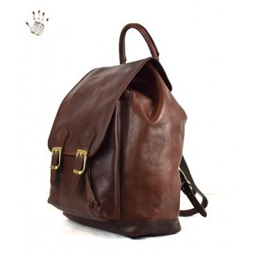 """Leather Backpack """"Barga"""""""