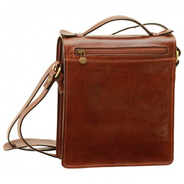 """Leather Man bag """"Gniew"""" B"""