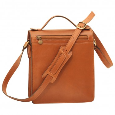 """Leather Man bag """"Gniew"""" C"""