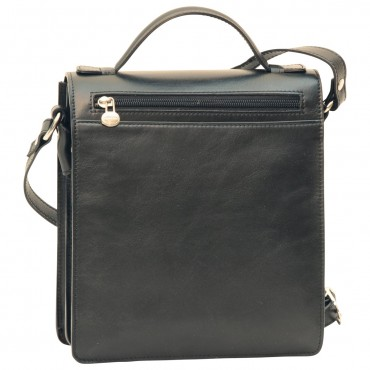"""Leather Man bag """"Gniew"""" BL"""