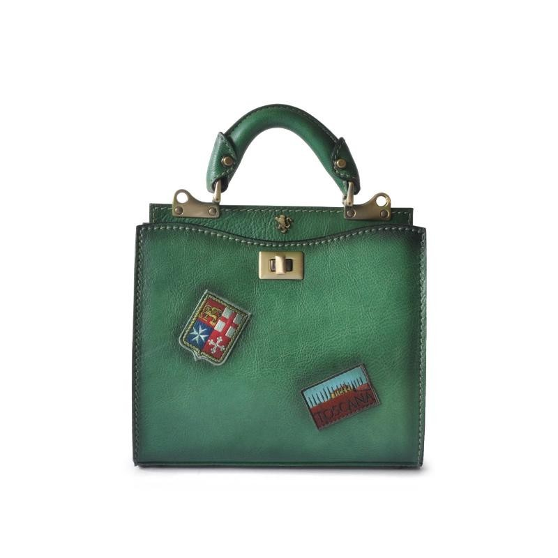 "Leather Lady bag ""Anna Maria Luisa de' Medici"""