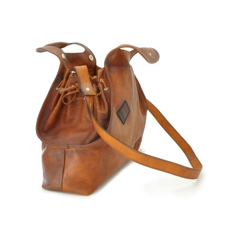 "Leather Lady bag ""Gaiole"""