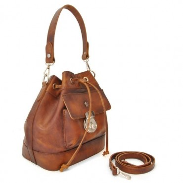 "Leather Lady bag ""Montaione"""