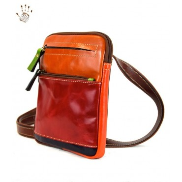 "Leather Man bag ""Ilviero""..."