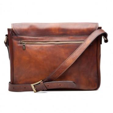 "Leather Man bag ""Fivizzano"""