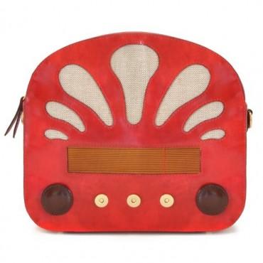 "Borsa donna in pelle ""Radio Days"""