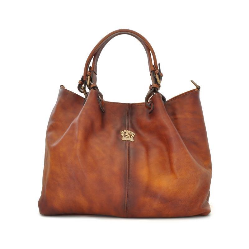 "Leather Lady bag ""Collodi"" B168"