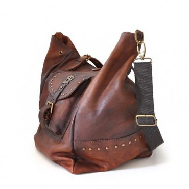 "Leather Lady bag ""Talamone"""