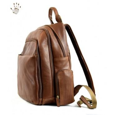 """Leather Backpack """"Bruna"""""""
