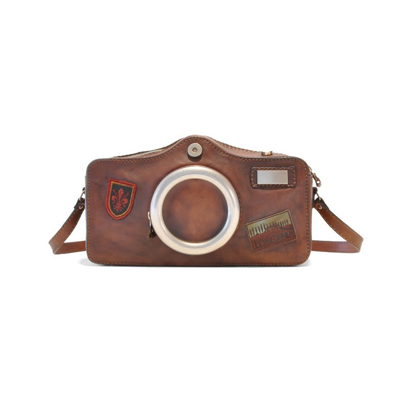 "Leather Lady bag ""Fotocamera"""