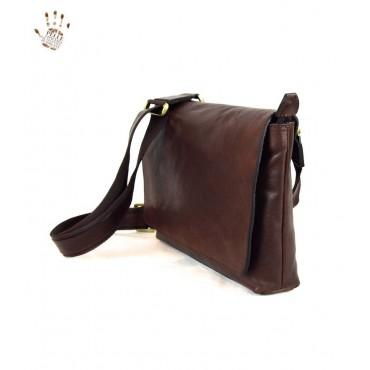 "Leather Man bag ""Sughera"""