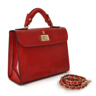 "Leather Lady bag ""Lucignano..."