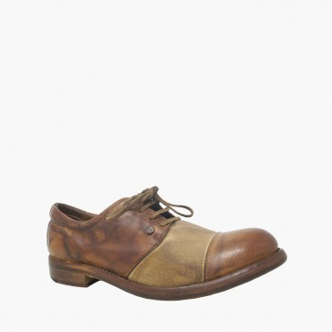 "Leather men shoes""Clochard"""