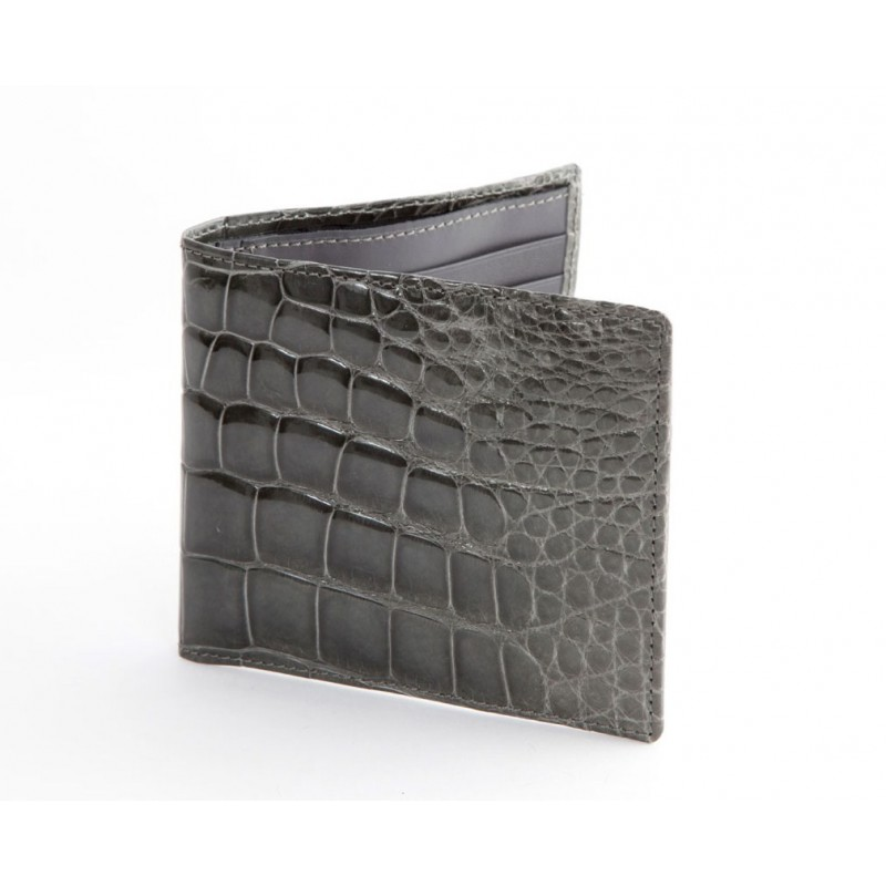 Wallet in real Crocodile leather
