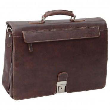 "Leather Man Briefcase ""Kraków"""