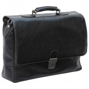 "Leather Man Briefcase ""Radom"""