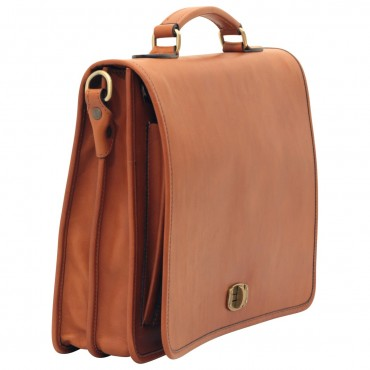 Leather Man Briefcase...