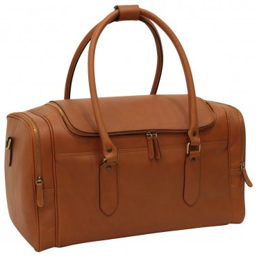 "Leather travel bag ""Arno"" C"