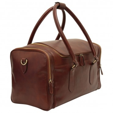 "Leather travel bag ""Arno"""