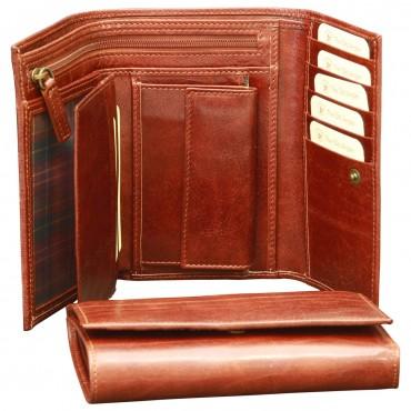 "Leather Woman Wallet ""Kalisz"""