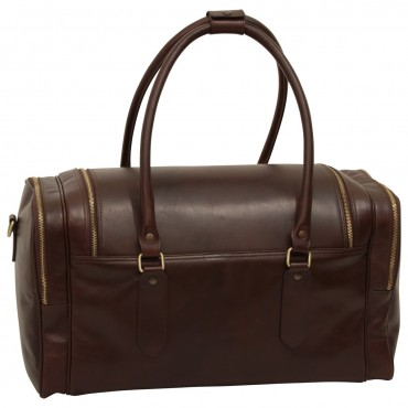 "Leather travel bag ""Arno"" DB"