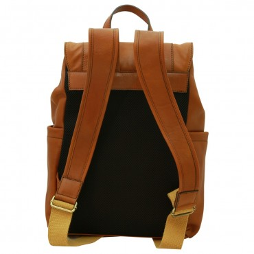 "Leather backpack ""Leszno"" C"