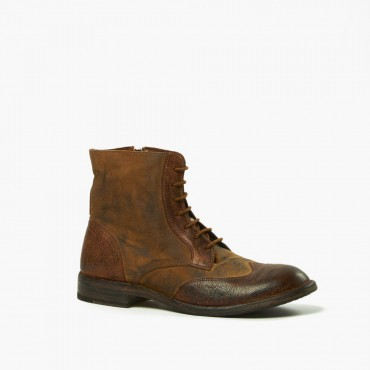 "Leather men shoes""Tela Olona"""