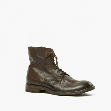 Leather man ankle boot...