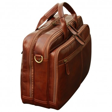 Leather Woman Briefcase...