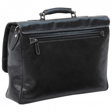 "Leather Man Briefcase ""Radom"""