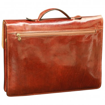 "Leather Briefcase ""Sopot"""
