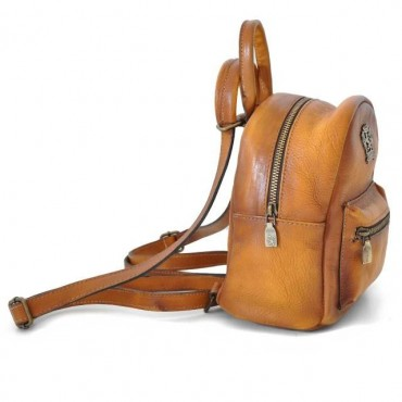"Leather Backpack ""Montegiovi"""