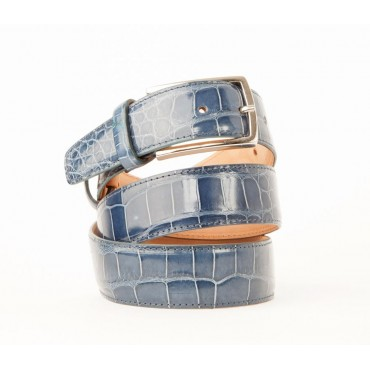 Crocodile men woman belts