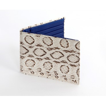 Wallet in real Python leather