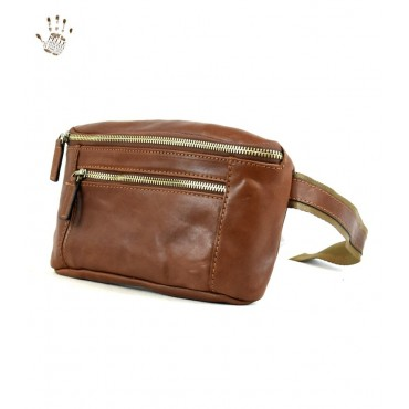 "Leather Man bag ""Follonica"" II"