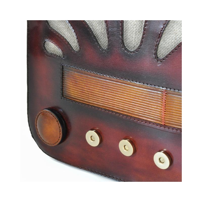"Leather Lady bag ""Radio Days"" S436"