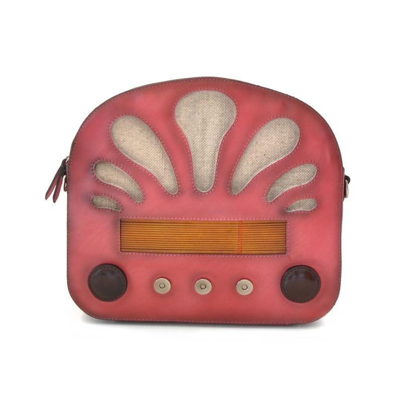 "Borsa donna in pelle ""Radio Days"" S436"