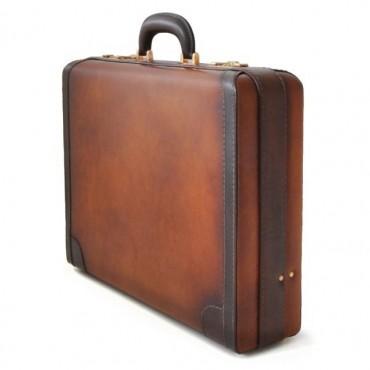 """Leather Suitcase """"Tiziano"""""""