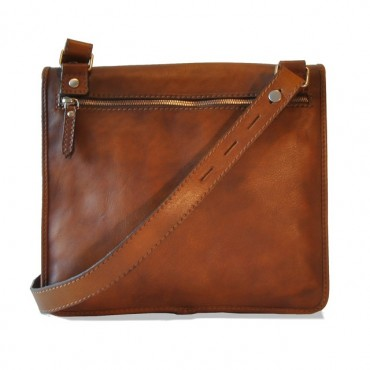 Leather shoulder bag...