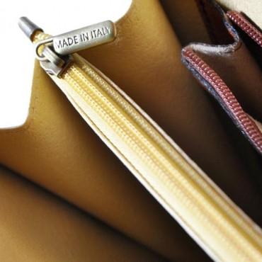 """Leather Briefcase """"Leccio"""" B113B"""