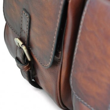 """Leather Briefcase """"Montalcino"""" B228"""