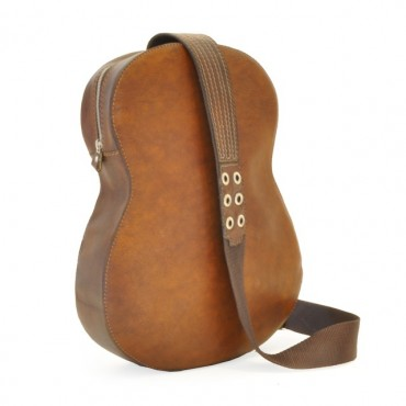 "Leather Backpack ""Chitarra"""