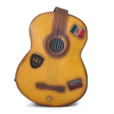 """Leather Backpack """"Chitarra"""" B434"""