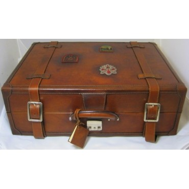 """Leather Trolley """"Orient Express"""""""