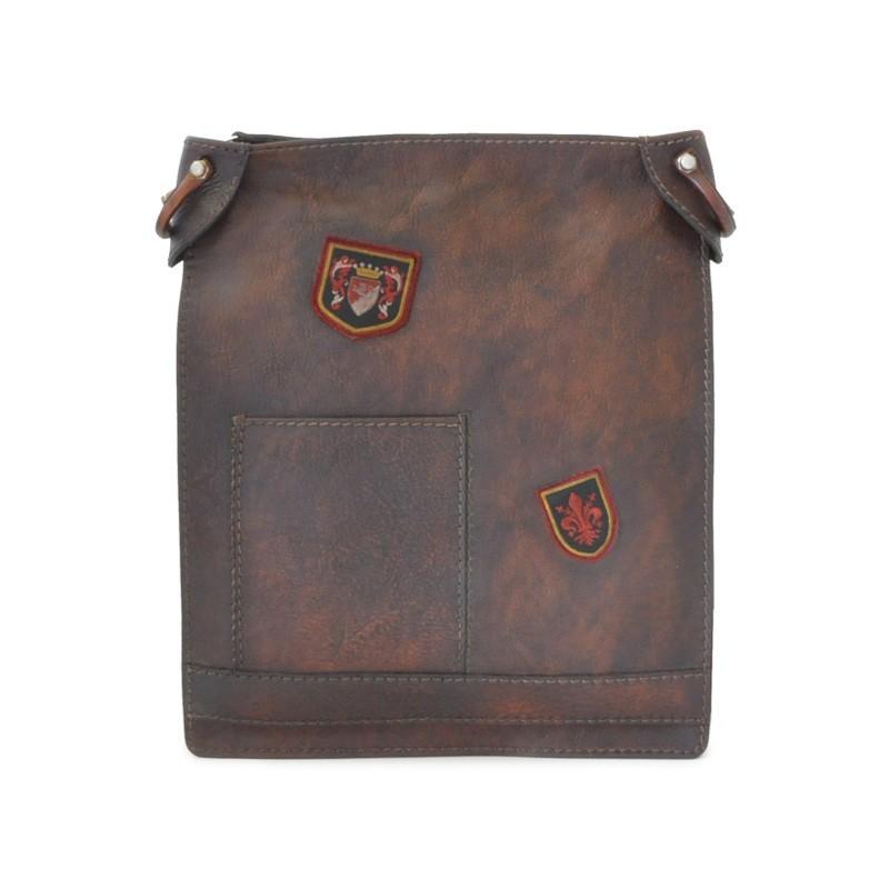 """Leather Man bag """"Bakem"""" big"""
