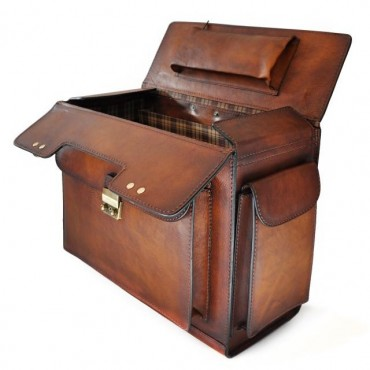 "Leather Pilot case ""Arnolfo..."