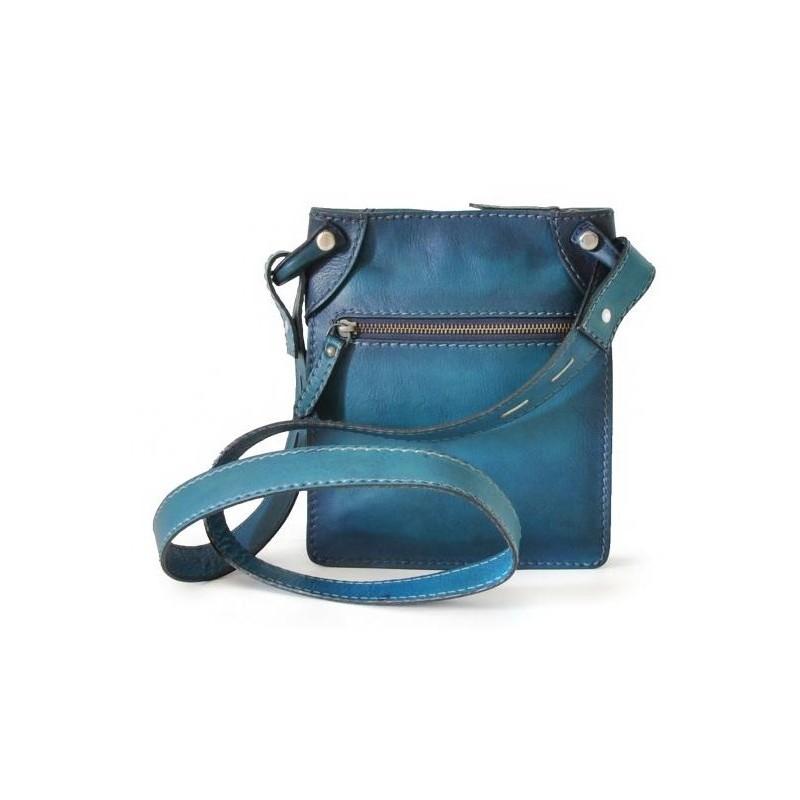 "Leather Man bag ""Bakem"" small"