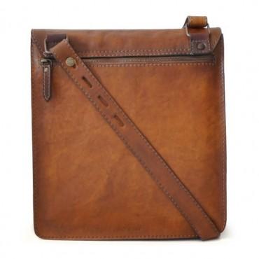 "Leather Man Bag ""Messanger"" B182"